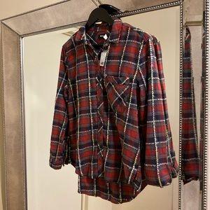 BDG Plaid Flannel Shirt